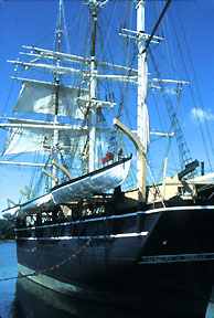 The Charles Morgan, whaling ship, Mystic Seaport, Mystic, CN